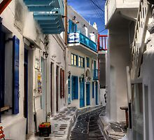 Mykonos Street - iPhone Case by Tom Gomez