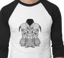 Psycho trio Men's Baseball ¾ T-Shirt