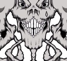 Psycho trio Sticker