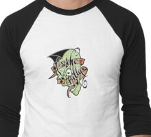 Psychobilly scolled Men's Baseball ¾ T-Shirt