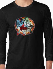 tattoo zombie Long Sleeve T-Shirt