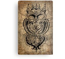 Antique Owl Metal Print