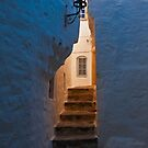 Daybreak in the backstreet alley by Konstantinos Arvanitopoulos