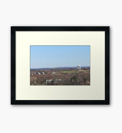 Small town livin' Framed Print