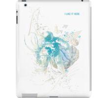 I like it here iPad Case/Skin