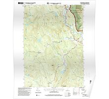 USGS TOPO Map New Hampshire NH Wentworth 329857 1995 24000 Poster