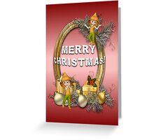 A Fairy Merry Christmas Greeting Card