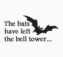 The bats have left the bell tower - Bauhaus by morTinuviel