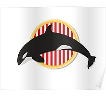 Jump Orca Poster