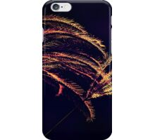 Duo of Grass in golden autumn light v3 iPhone Case/Skin