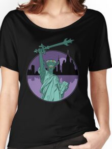 Defender of Liberty Women's Relaxed Fit T-Shirt