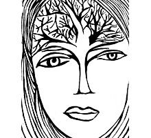Mind Branches Photographic Print
