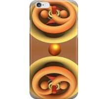 Ying and Yang 3-d abstract iPhone case iPhone Case/Skin