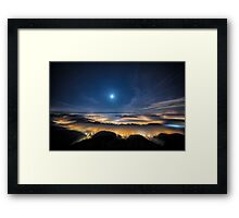 Empire of the Lights Framed Print