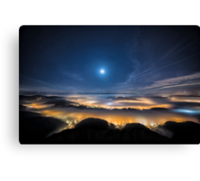 Empire of the Lights Canvas Print