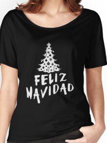 Feliz Navidad with Tree Women's Relaxed Fit T-Shirt