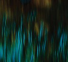 Thistles in Blue by Anne Staub