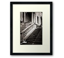 No Entrance Framed Print