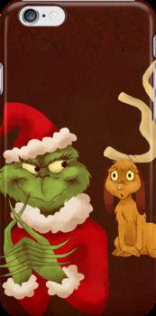 Merry Grinchmas by Lauren Draghetti
