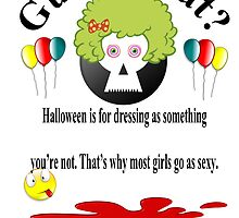 """Quote """"Halloween is for dressing"""" by byheidi"""