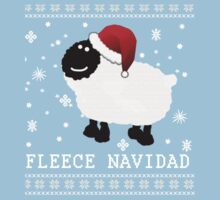 Fleece Navidad Cute Christmas Tshirt Kids Tee