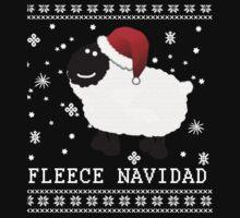Fleece Navidad Cute Christmas Tshirt Kids Tee