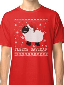 Fleece Navidad Cute Christmas Tshirt Classic T-Shirt
