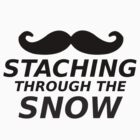 Staching Through The Snow by codeslinger