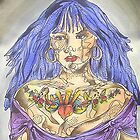 Tattoo Girl 1 by gailmiller