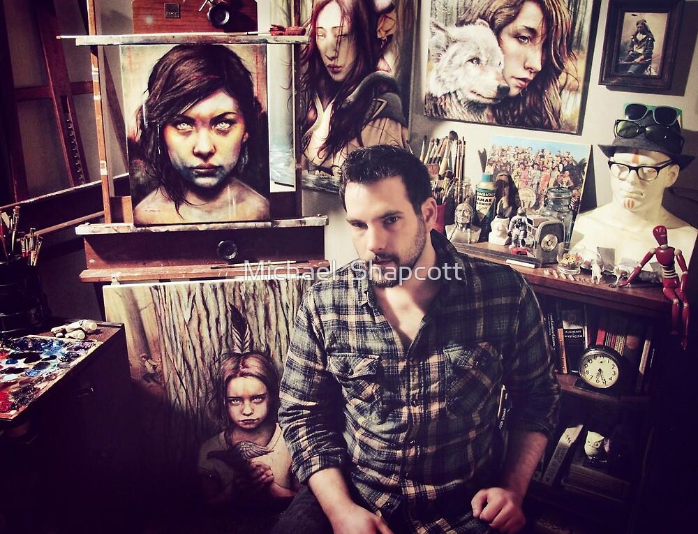 In the Studio 2012 by Michael  Shapcott