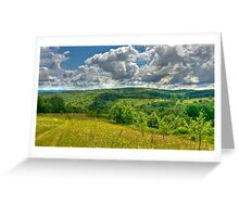 Walking into the Clouds Greeting Card