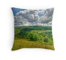 Walking into the Clouds Throw Pillow