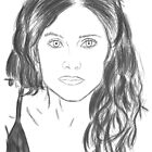 Rachel shelley portrait by KelceyHeadey