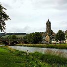 River Tweed at Peebles by Agnes McGuinness