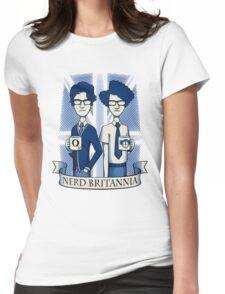 Nerd Britannia Womens Fitted T-Shirt