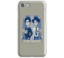 Nerd Britannia iPhone Case/Skin