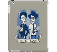 Nerd Britannia iPad Case/Skin