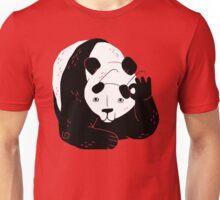 Panda Glasses Unisex T-Shirt