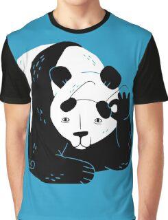 Panda Glasses Graphic T-Shirt