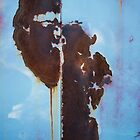 Rust on Blue by Armando Martinez