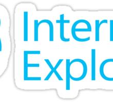 Internet Exploder Sticker