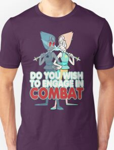 Do You Wish to Engage in Combat? T-Shirt