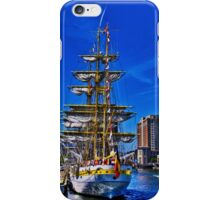 Sail Boston - Mircea ( back view) iPhone Case/Skin