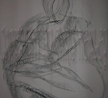 Male 1-Min Gesture-Charcoal by Christoph72