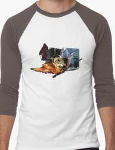 Harry Potter in Watercolour Men's Baseball ¾ T-Shirt