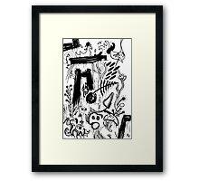 058 Framed Print