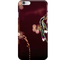 water plant with blossom, bokeh iPhone Case/Skin
