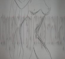 1 Min Gesture---Debra-Standing-Charcoal by Christoph72