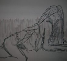 5 minute gesture- Debra Laying by Christoph72