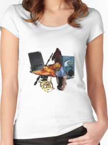 Harry Potter in Watercolour Version 2 Women's Fitted Scoop T-Shirt